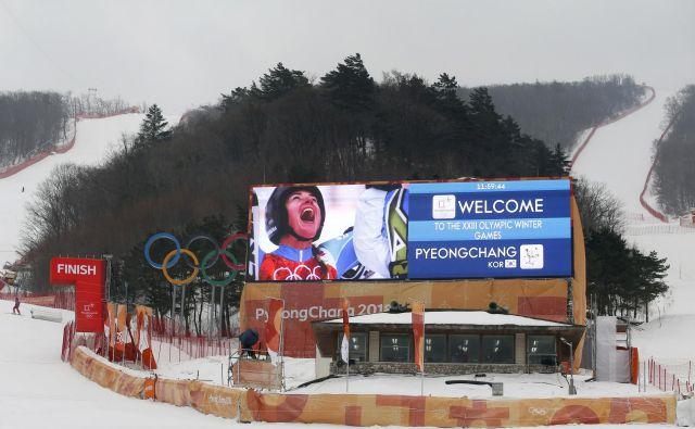 Na olimpijski progi smuka ne bo. FOTO: Matej Družnik/Delo