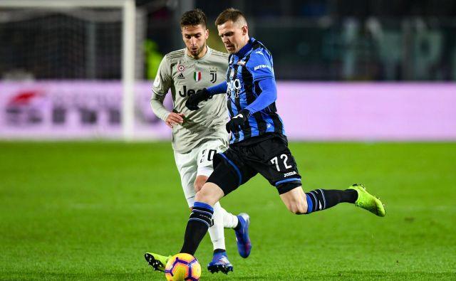 Josip Iličić je zasukal potek tekme med Atalanto in Fiorentino. FOTO: AFP