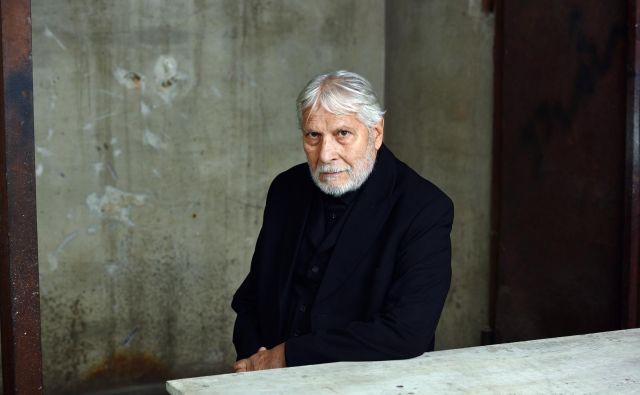 Njegova žena Ksenija Benedetti pravi, da v Borisu živijo različni bogovi. Foto Peter Uhan