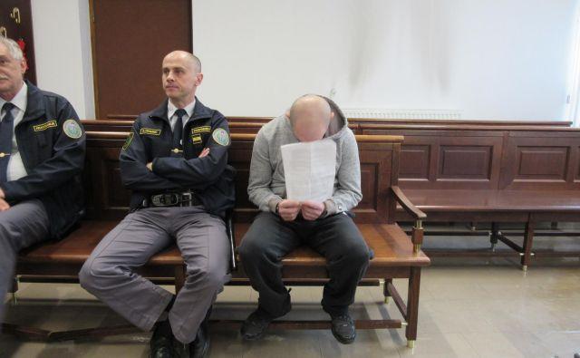 Agron Beriša je dejal, da tretjina obtožnice drži, drugo pa ne. FOTO: Špela Kuralt/Delo
