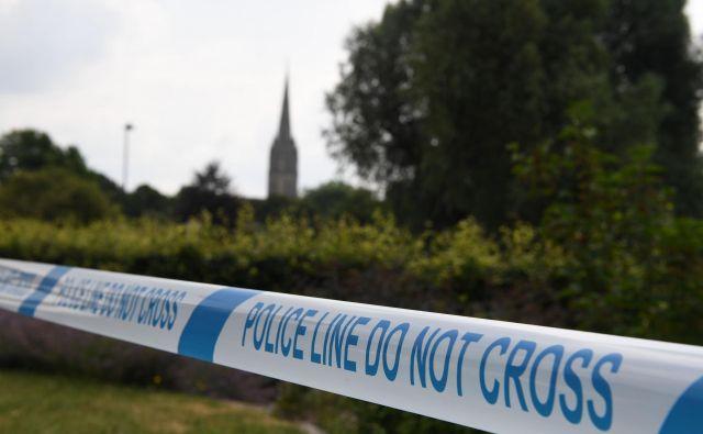 Salisbury je bil 4. marca lani tarča napada s kemičnim orožjem. FOTO: Chris J Ratcliffe / AFP