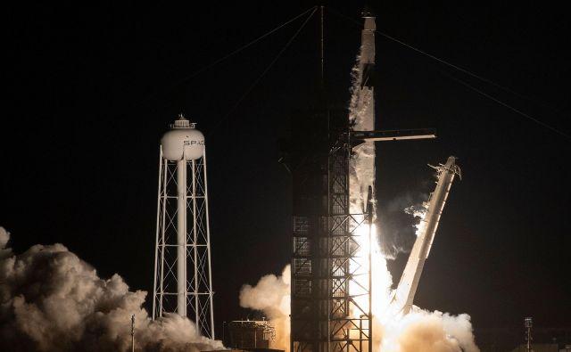 SpaceXov falcon 9 Foto Jim Watson AFP