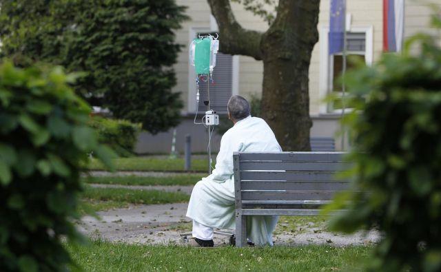Moški pri nas najpogosteje zbolevajo za rakom na prostati, ženske za rakom na dojkah. FOTO: Leon Vidic/Delo