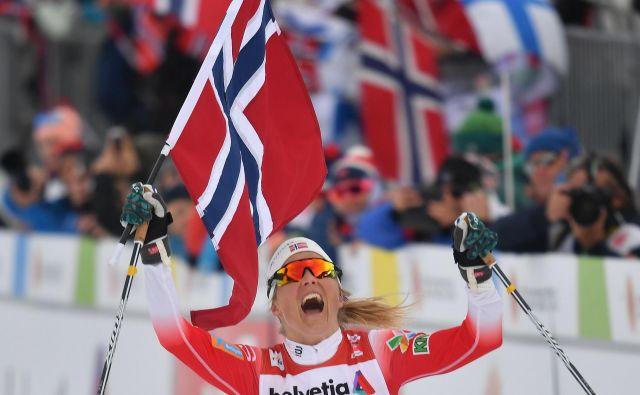 Therese Johaug je tekaška kraljica Seefelda. FOTO: AFP