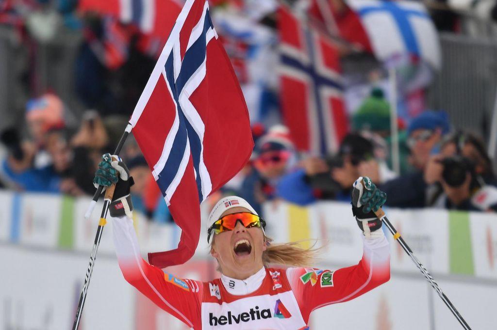 Johaugova še desetič svetovna prvakinja