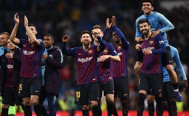 Barcelona beži Realu že za 12 točk. FOTO: Oscar del Pozo/AFP