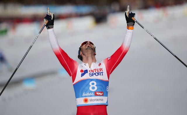 Hans Christer Holund je poskrbel za to, da Norvežani v Seefeldu niso bili premagani. FOTO: Lisi Niesner/Reuters