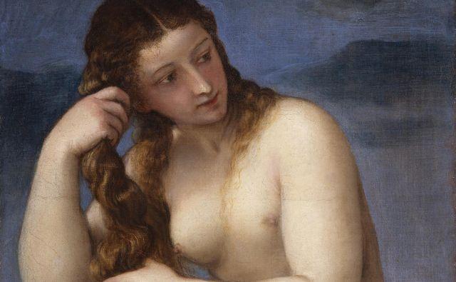 Titian: Venera, okoli 1520, iz zbirke Nacionalne galerije Škotske v Edinburghu. FOTO: Wikipedia