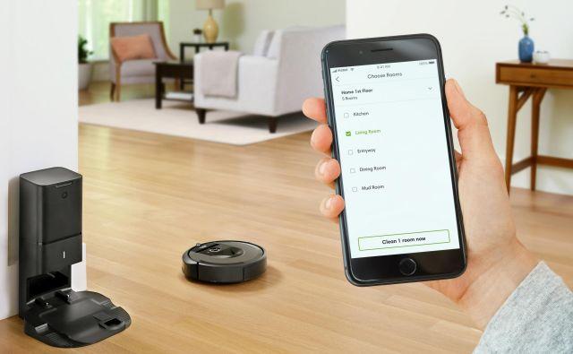Robot® Roomba® i7+ je sesanje dvignil še na višjo raven inteligence in avtomatizacije.Foto: iRobot