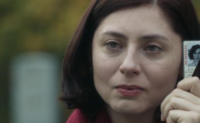 Izbrisana Ana Jovanović (Judita Franković Brdar) se bori za otroka in dostojanstvo.<br /> Foto: Gustav film