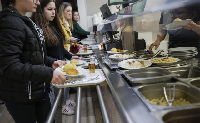Pomembno je, da šola učence ozavešča o prednostih lokalno pridelane hrane. FOTO: Uroš Hočevar