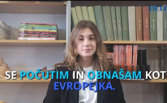 Dijake Gimnazije Bežigrad smo vprašali, zakaj bodo šli na volitve. FOTO: N. D.