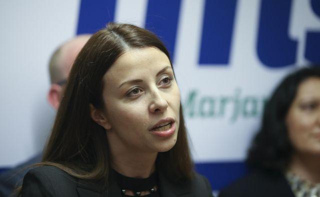 Novinarka Irena Joveva je nosilka LMŠ za evropski parlament. FOTO: Jože Suhadolnik