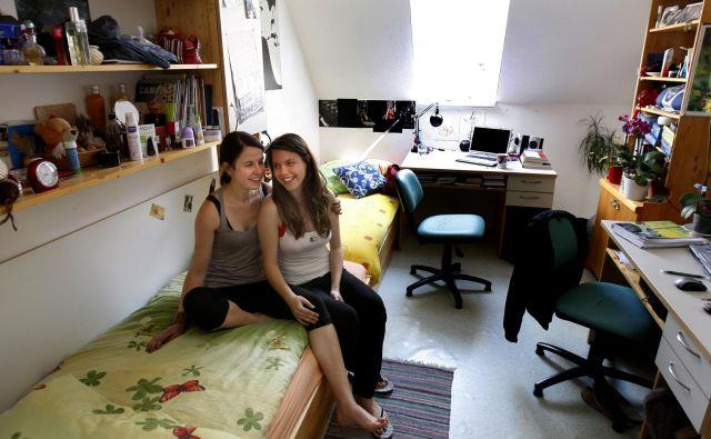 Letošnje študijsko leto je bilo med študenti le malo takšnih, ki so dobili posteljo v študentskem domu. FOTO: Blaž Samec/Delo