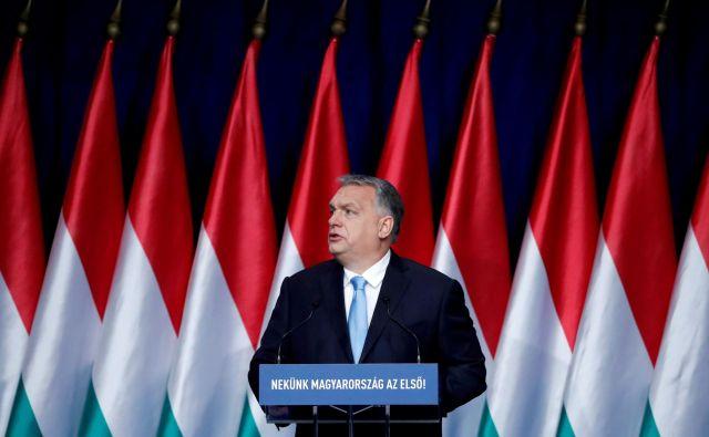 Madžarski premier Viktor Orban FOTO: Reuters