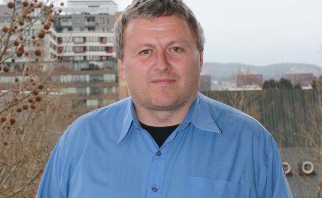»Finančna naložba v lastni podatkovni center je ogromen zalogaj,« pravi Robert Turnšek.<br /> FOTO: NIL