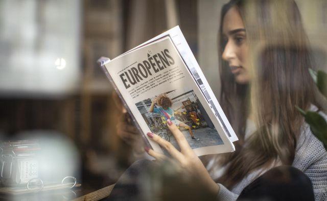 Evropa je »vsebinsko tako neizčrpno polje«, da so letos v Parizu začeli izdajati urbani tromesečnik <em>Européens. </em>Foto: Voranc Vogel