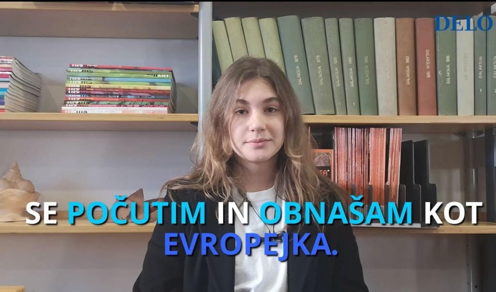 FOTO:»Kamorkoli grem, se počutim in obnašam kot Evropejka« (VIDEO)