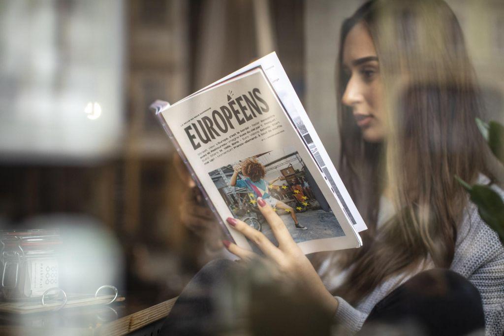 FOTO:Za politike in medije EU prej krivec kot rešitev