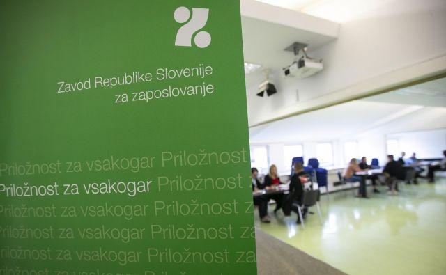 Na letni ravni je število registriranih brezposelnih upadlo v vseh območnih službah, najbolj na območju Novega mesta (za 9,9 odstotka) in Murske Sobote (9,1 odstotka), najmanj na območju Kopra (1,4 odstotka).FOTO: Jože Suhadolnik/Delo