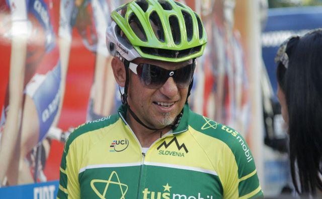 Neuradno naj bi se Mirko Tuš poškodoval s kolesom. Sicer je bil navdušen kolesar. FOTO: Leon Vidic/Delo