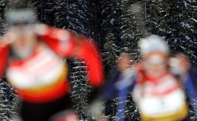CAS je biatlonki ukinil suspenz. FOTO: Mavric Pivk/Delo