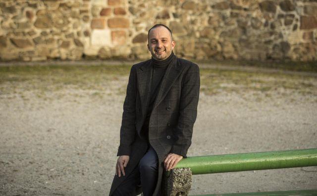 Dean Vuletic, strokovnjak za Evrovizijo in Intravizijo<br /> Foto Voranc Vogel