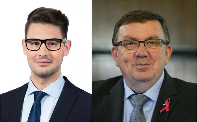 Državni zbor je potrdil poslanski mandat enemu od piarovcev Sama Fakina,in sicer <strong>Niku Prebilu</strong>. FOTO: LMŠ/Jože Suhadolniik