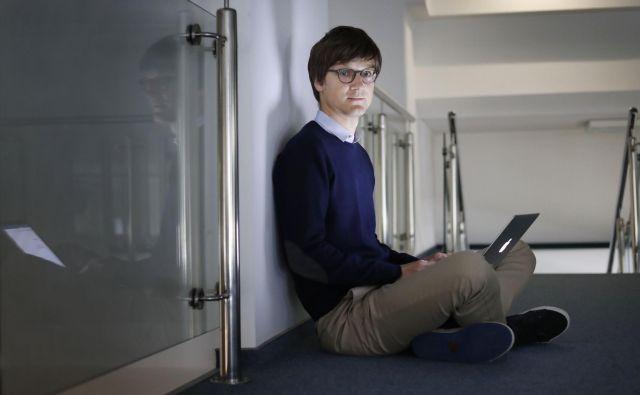Jure Leskovec je profesor na Stanfordu. Od fundacije Marka Zuckerberga je prejel 1,3 milijona evrov za raziskave za odkrivanje metod zdravljenja različnih bolezni.FOTO: Leon Vidic/Delo