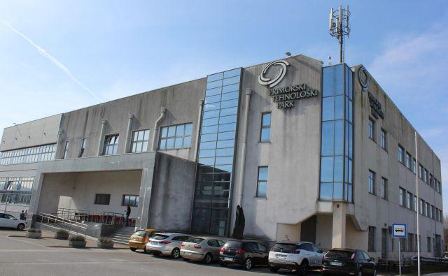 Primorski tehnološki park gosti 70 podjetij. Foto Blaž Močnik/Delo