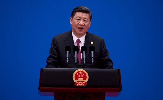 Kitajski predsednik Xi Jinping FOTO: AFP