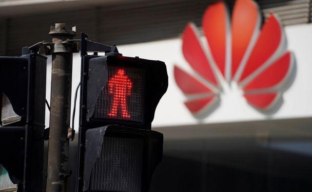 Huawei v ZDA ni zaželen. FOTO: Reuters