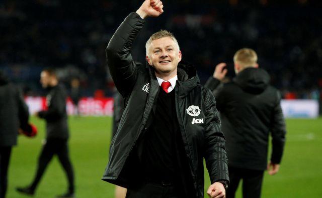Je sloviti sir Alex Fergusun v svojemu varovancu Oleju Gunnarju Solskjærju le dobil naslednika na klopi Manchester Uniteda? FOTO: Reuters
