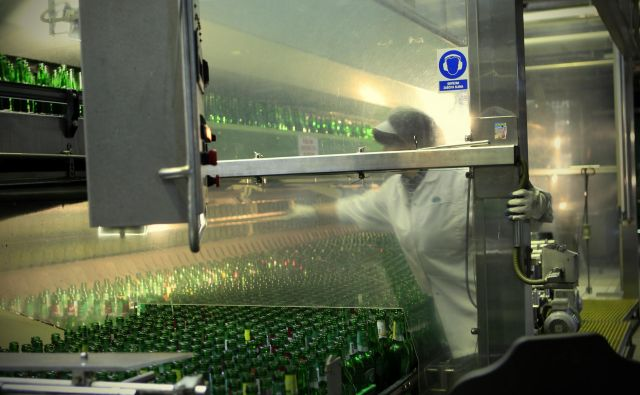 V zadnjih treh letih je izvoz Pivovarne Laško Union rasel v povprečju za 16 odstotkov na leto. FOTO: Uroš Hočevar