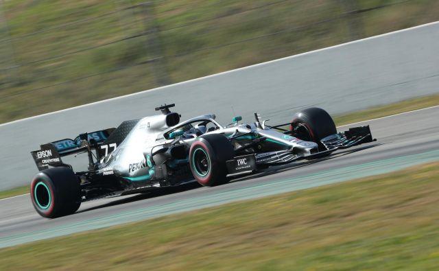 Valtteri Bottas je lani sedemkrat zmogel najhitrejši krog na dirki. FOTO: Albert Gea/Reuters