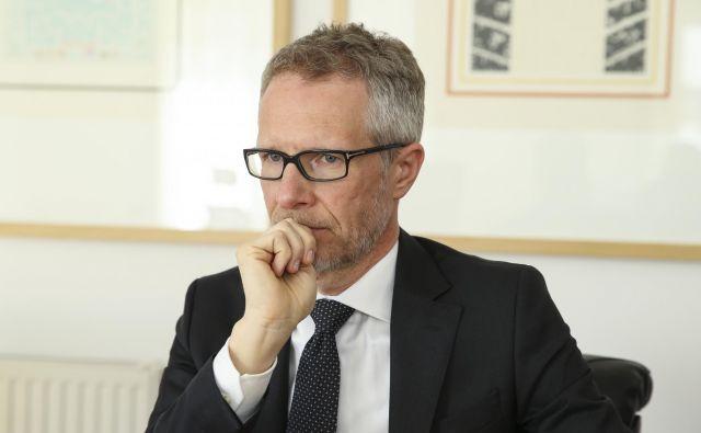 Boštjan Vasle: »Moje vodilo je, da BS ne izpostavljamo po nepotrebnem pri zadevah, ki so morda medijsko bolj zanimive, niso pa del našega osnovnega poslanstva.« FOTO: Jože Suhadolnik