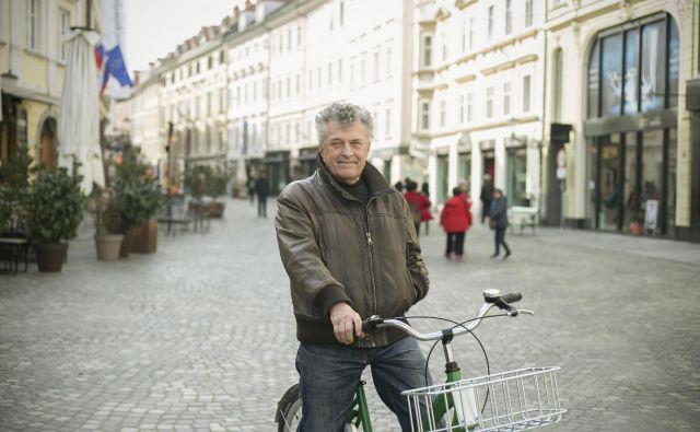 Mestni arhitekt Janez Koželj: Treba je povezati kulturni, gastronomski in nakupovalni turizem. Fotografiji Leon Vidic
