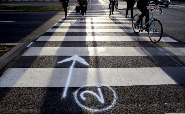 Usodni prehod za pešce. FOTO: Roman Šipić