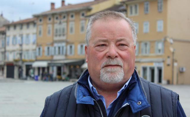 Rudi Pavšič vodenje ene izmed dveh krovnih organizacij Slovencev v Italiji prepušča nasledniku. FOTO: Blaž Močnik/Delo