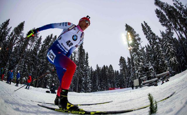 Anastazija Kuzmina je pri 34 letih prvič postala svetovna prvakinja. FOTO: Jonathan Nackstrand/AFP