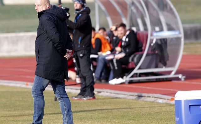 Trener Olimpije Robert Pevnik. FOTO: Mavric Pivk/Delo