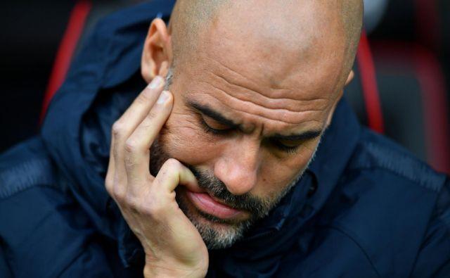 Se Pep Guardiola seli v serie A? FOTO: Dylan Martinez/Reuters