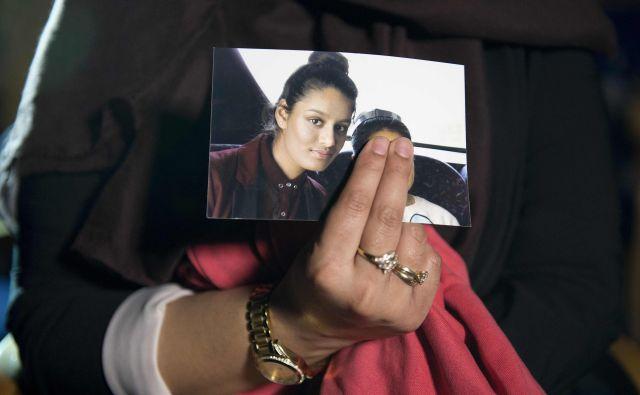 Shamims Begum je leta 2015 kot najstnica prebegnila v Sirijo in se pridružila borcem Islamske države (IS).FOTO: Laura Lean/Afp