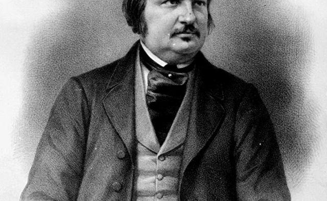 Honoré de Balzac FOTO: Wikipedija