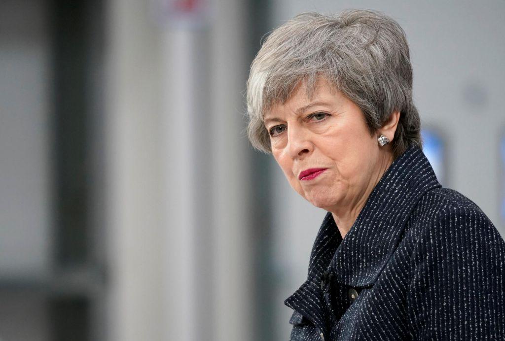 Theresa May v Strasbourgu rešuje svojo verzijo brexita
