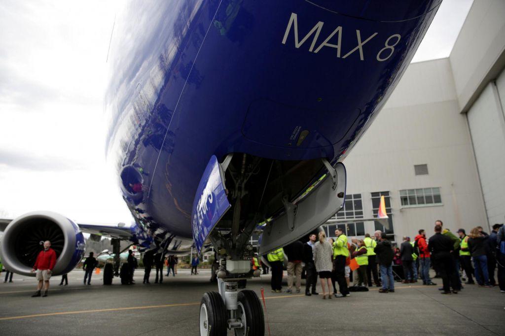 Zlom delnic Boeinga