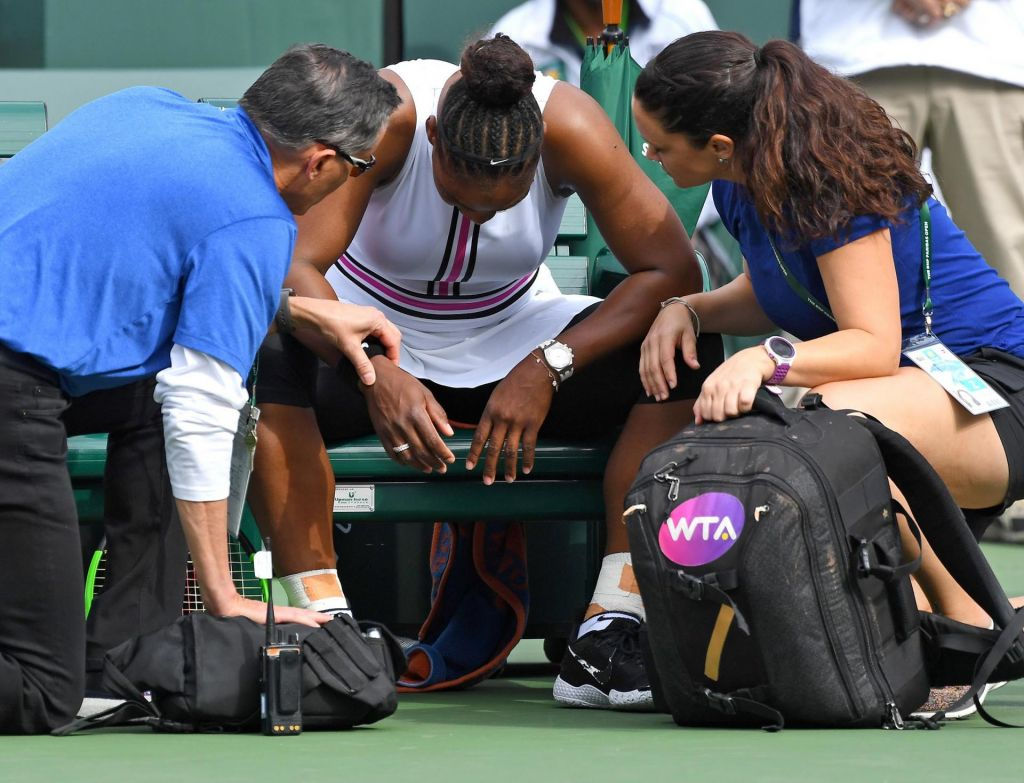 Bolna Serena predala dvoboj
