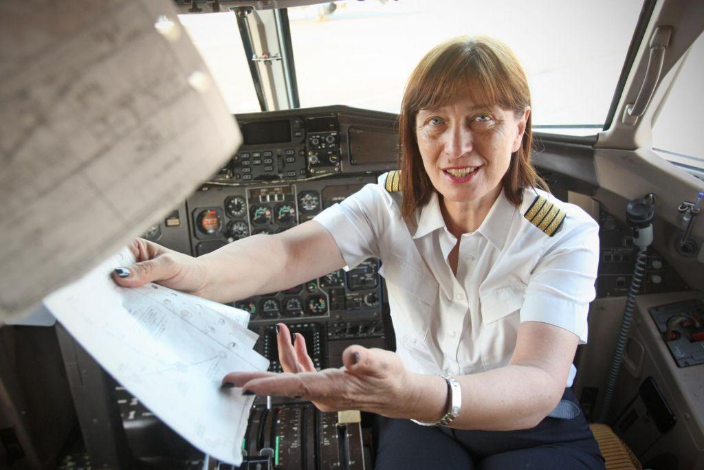 FOTO:Poklicna pilotka: Pilot je vedno prepričan, da se kaj takega njemu ne more zgoditi