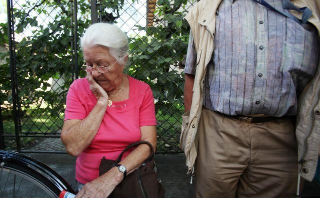Dejstvo je, da smo starajoča se družba. Dejstvo je tudi, da ima Slovenija revne upokojence.FOTO: Jože Suhadolnik / Delo