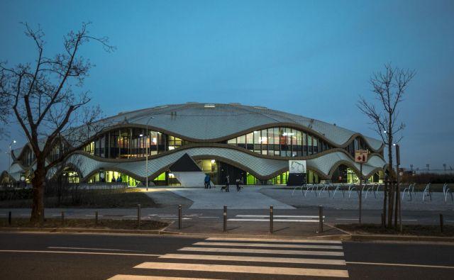 Dvorana Stožice bi lahko spet gostila najboljše košarkarje Evrope. FOTO: Voranc Vogel/Delo